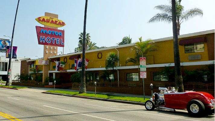 Go On Location Los Angeles Hotels Featured In Film And